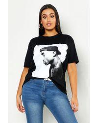 8b34a3c75 Boohoo - Plus Tupac License T-shirt - Lyst