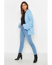 Boohoo Premium Hand Knitted Cardigan
