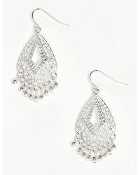 Boohoo - Boho Filigree Earrings - Lyst