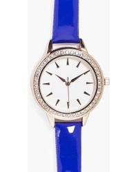 Boohoo - Zoe Bauble Bauble Present Diamante Watch - Lyst