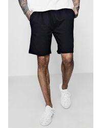 Boohoo - Jersey Mid-length Shorts - Lyst