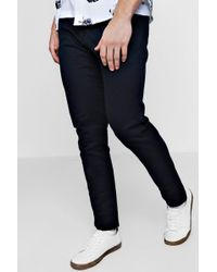 Boohoo - Slim Fit Chino Trousers With Stretch - Lyst