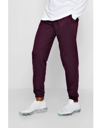 Boohoo - Jersey Loose Fit Jogger - Lyst