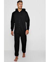 ebe38470f Calvin Klein Ck Origins Onesie in Black for Men - Lyst