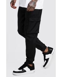 BoohooMAN - Cargo Trousers With Cuff - Lyst