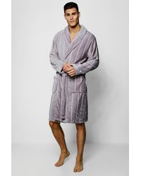 120783394a Men s BoohooMAN Dressing gowns and robes Online Sale