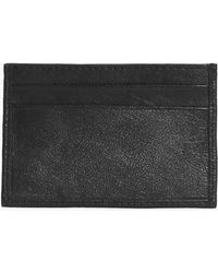 Boohoo - Real Leather Card Holder - Lyst