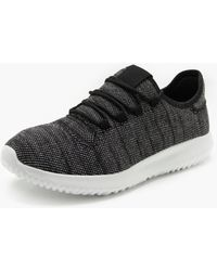 Boohoo - Knitted Upper Interlace Trainer - Lyst