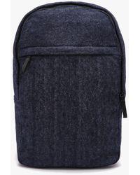 Lyst - Boohoo Mesh Panel Drawstring Bag in Black for Men 272f056aeeca1
