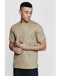 Boohoo - Four Pocket Short Sleeve Utility Shirt - Lyst