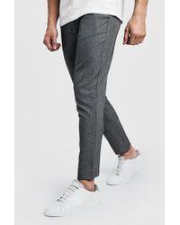 BoohooMAN - Plain Smart Jogger Trouser - Lyst