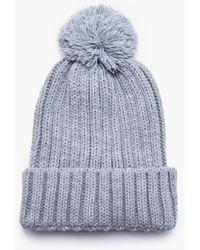5e7e1493758 Lyst - KTZ Stussy Classic Super S Bobble Hat in Gray for Men