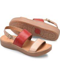 a38a0af94 Lyst - Born B rn Oconee Platform Sandal