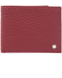 Orciani - Men's Red Leather Wallet - Lyst