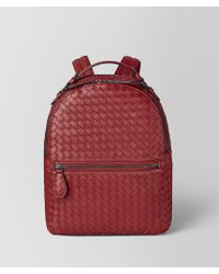 c07007dd14dc Bottega Veneta - Backpack In Intrecciato Nappa - Lyst