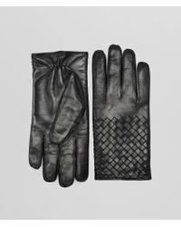 Bottega Veneta - Gloves In Nero Nappa - Lyst