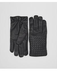Bottega Veneta - Gloves In Dark Ardoise Nappa - Lyst