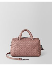 Bottega Veneta - Mini Top-handle Bag In Intrecciato Nappa - Lyst