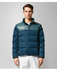 Bottega Veneta - Panelled Intrecciato Leather And Shell Quilted Down Jacket - Lyst