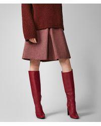 Bottega Veneta - Melange A-line Skirt - Lyst