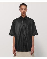 7c3aadee7762a Chemise de pyjama à fleurs Alexander McQueen en coloris Noir - Lyst