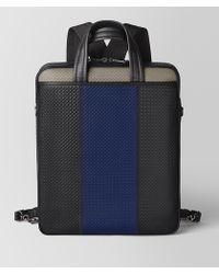 37d8adeeaefe Bottega Veneta - Backpack In Micro-intrecciato Embossed - Lyst