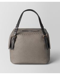 Bottega Veneta - Steel Cervo Shoulder Bag - Lyst
