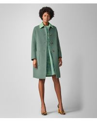 Bottega Veneta Coat In Cashmere