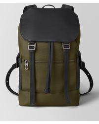 Bottega Veneta - Sassolungo Backpack In Hi-tech Canvas And Matte Calf - Lyst