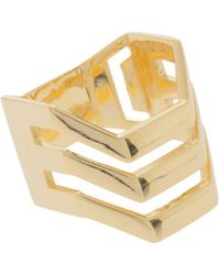 Maria Black - Trinity Ring, Size France54, Women, Metallic - Lyst