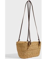 Muuñ - Hamptons Hand-woven Straw Bag, Size Os, Women, Beige - Lyst