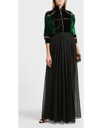 Elie Saab | Sheer Silk Maxi Skirt | Lyst