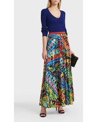 Missoni | Murrina Print Silk-blend Skirt | Lyst