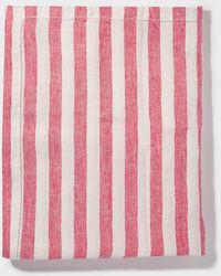 Frescobol Carioca - Medium Striped Linen Beach Towel - Lyst