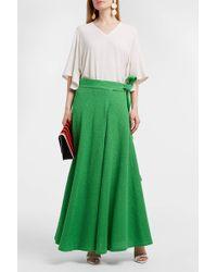 Veronique Leroy - Cotton-blend Bouclé Wrap Skirt - Lyst