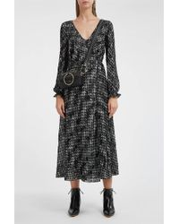 Missoni - Long Sleeve Maxi Dress - Lyst