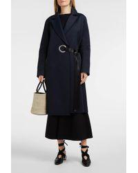 Elizabeth and James | Simon Frayed Cotton-blend Coat | Lyst
