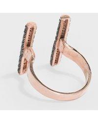 Maha Lozi - Double Barrel Ring - Lyst