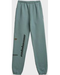 Yeezy - Calabasas Print Cotton-blend Jogging Trousers - Lyst