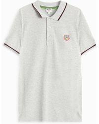KENZO - Pique Polo T-shirt - Lyst
