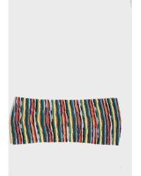 Missoni - Striped Crochet-knit Headband, Size Os, Women - Lyst