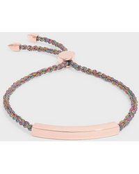 Monica Vinader - Linear Friendship Large Bracelet, Os - Lyst
