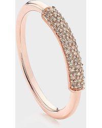 Monica Vinader - Stellar Diamond Stacking Ring - Lyst