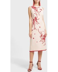 Andrew Gn - Embellished Midi Dress - Lyst