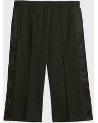 Maison Margiela - Striped Cotton-blend Shorts - Lyst