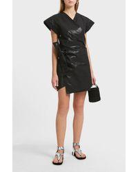 Isabel Marant - Haiti Side Tie Cotton And Linen-blend Dress - Lyst