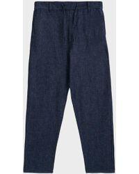 Maison Kitsuné - City Drawstring Jeans - Lyst