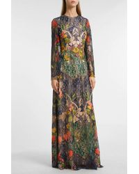 Reem Acra - Embroidered Lace Gown, Size Us8, Women - Lyst