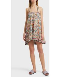 Missoni - Mosaic Crochet Trim Cotton Dress - Lyst