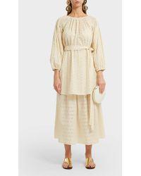 Marysia Swim - Abacos Cotton Midi Skirt - Lyst